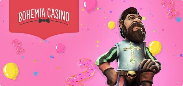 Bohemia casino 2. narozeniny