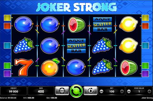 Hrací automat Joker strong úvodní obrázek