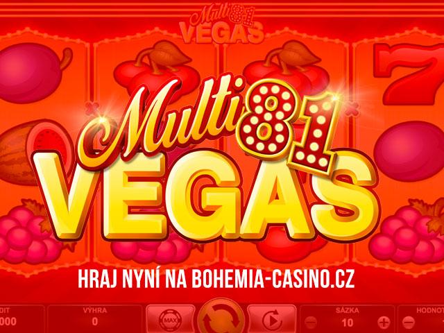 Hrací automat Multi Vegas 81