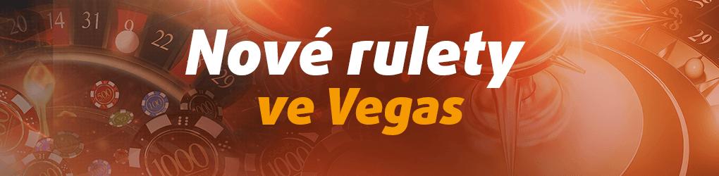 Tipsport Vegas nové rulety ve Vegas