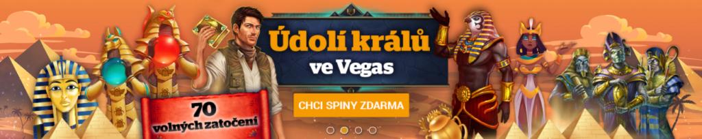 Chance Vegas Údolí králů